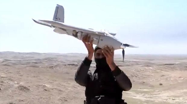 伊斯蘭國曾使用無人機投擲炸彈。