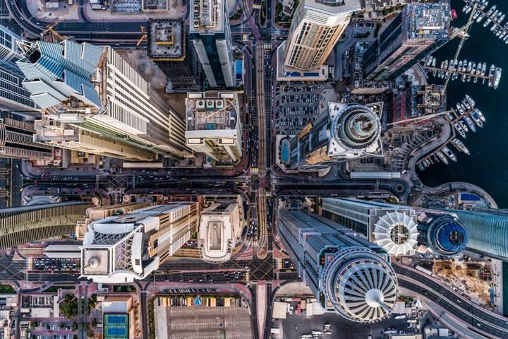 迪拜的建築令人嘆為觀止。(作者:bachirm)