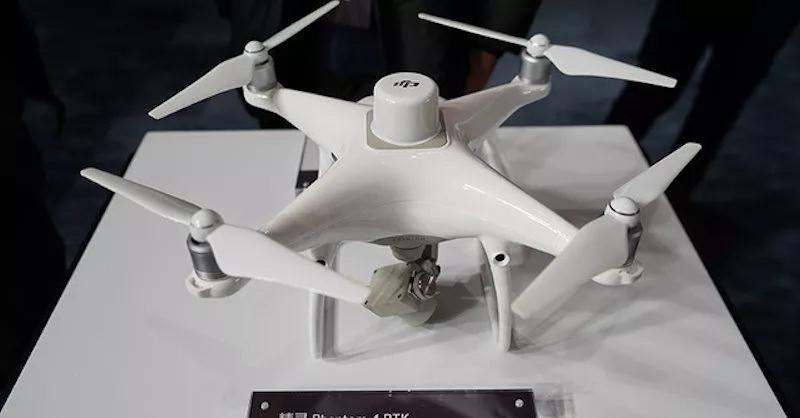 DJI 將推出 Phantom 4 RTK。