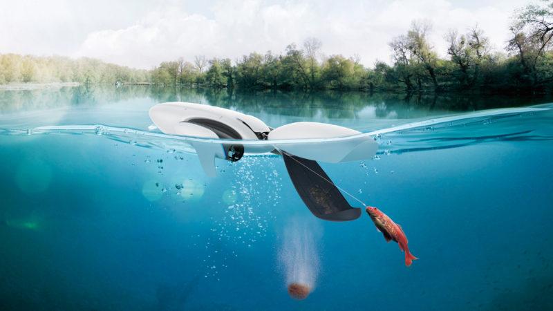 PowerDolphin 的最高航速達 每秒 5 米。