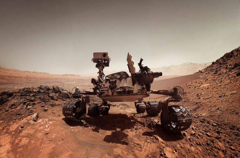 太空無人機無論在機動性和靈活度都較無人探測車好。