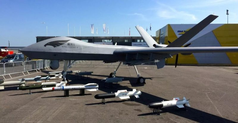 翼龍II去年底也曾在迪拜航展上展出。
