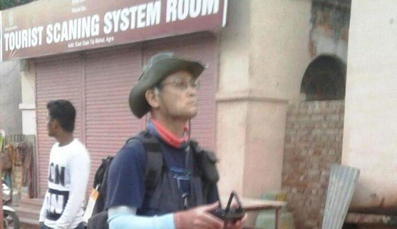 一位南韓教授於 2017 年 2 月疑因在泰姬陵內使用無人機而遭警方拘留。