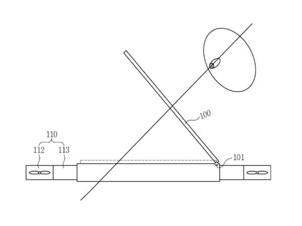 Samsung drone design