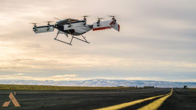 Airbus  自駕空中計程車 Vahana。
