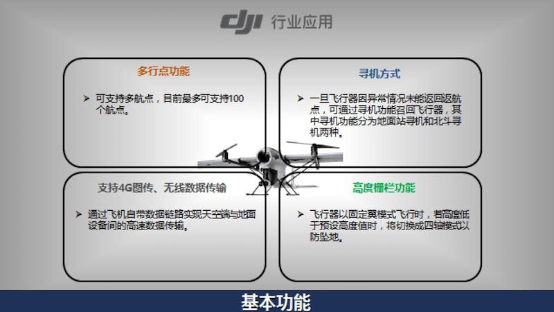 傳聞該混合翼無人機支持多達 100 個航點。