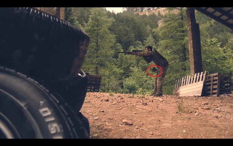 無人機擊中狙擊手「要害」。