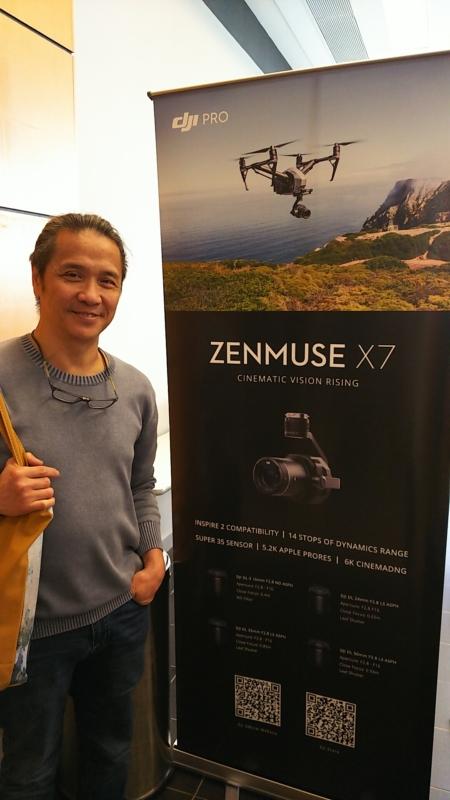 董瑋(Stephen Tung )希望雲台在未來可更微型化。