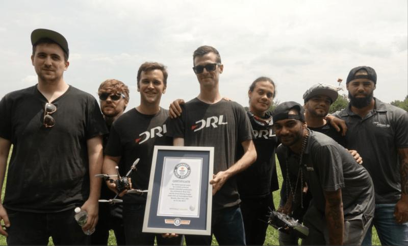 DRL RacerX 去年創下最快競速無人機的紀錄。