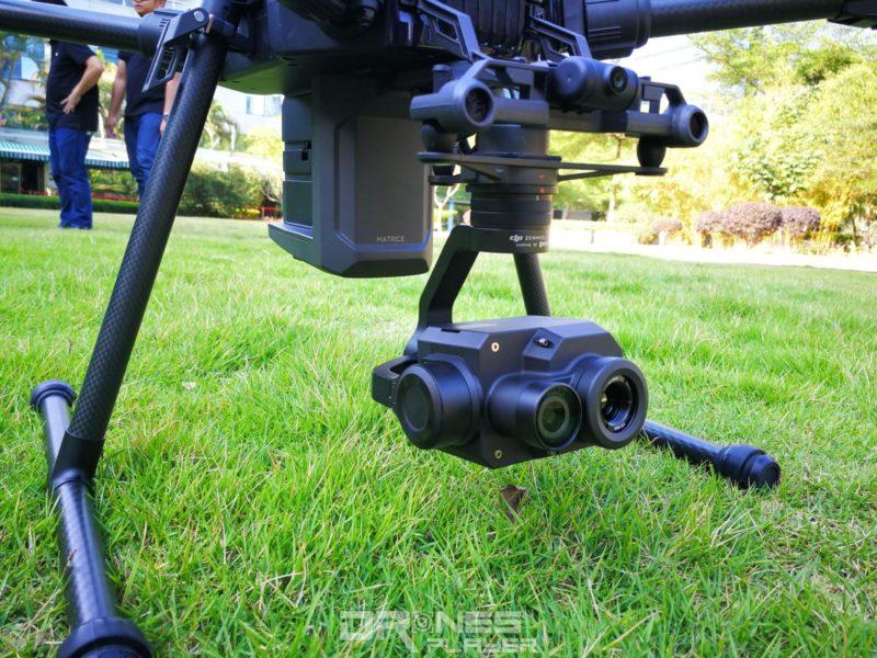 DJI Zenmuse XT2 雙光熱成像相機。