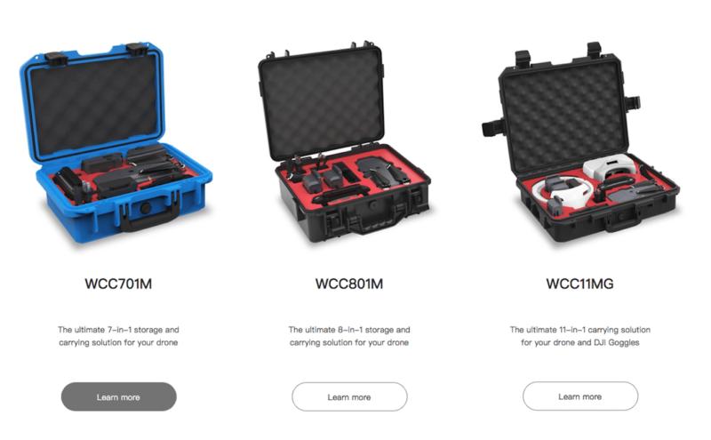 另一個無人機周邊品牌「Adam Elements」亦有推出防水無人機收納箱,但暫時只可供 DJI Mavic Pro 使用。