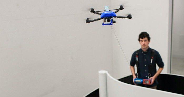 Fotokite 有線無人機。