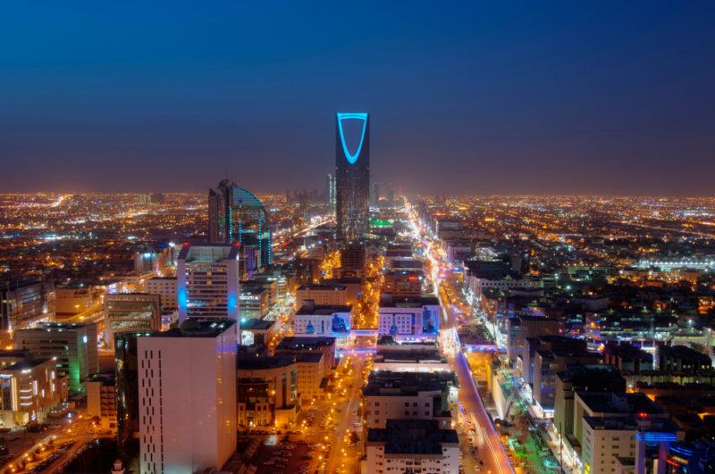沙特阿拉伯首都利雅得。