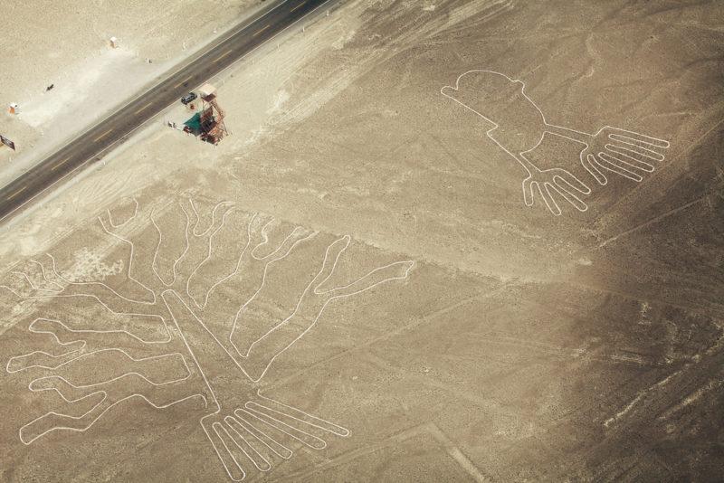 部分新發現的線條比知名的蜂鳥雕刻還要久遠。
