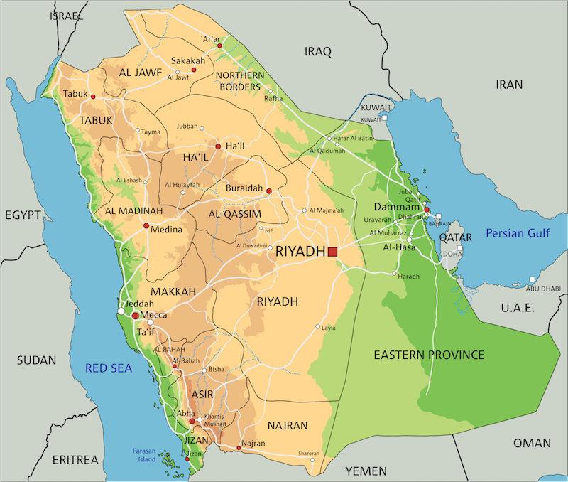 沙特阿拉伯內政部發言人也指,規管無人機的立法工作已屆最後階段。