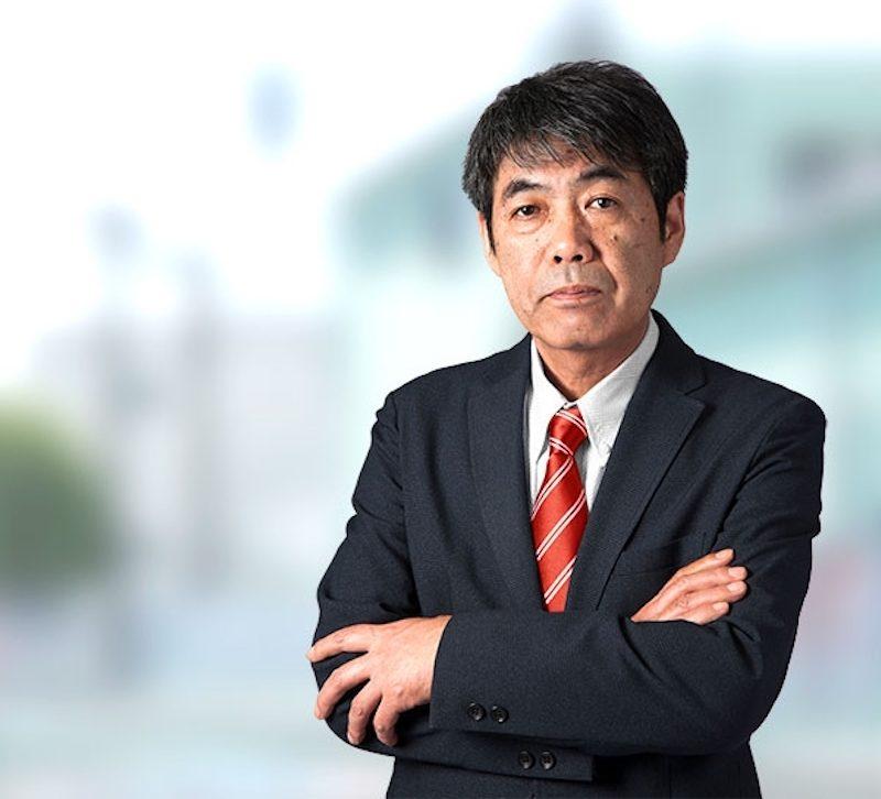 新任社長渡邊克美(Katsumi Watanabe)。