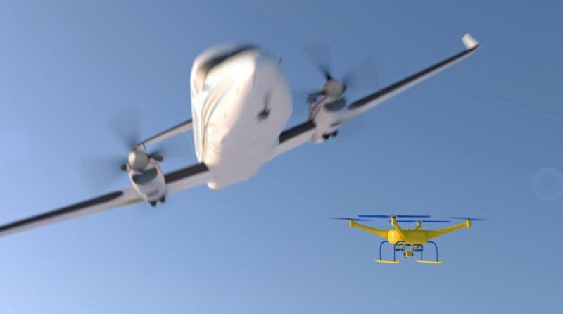 FAA 指出,在 1,270 宗有記錄的無人機目擊個案中,僅得 3.4% 為「幾近失誤」或「幾近空中相撞」的事故。