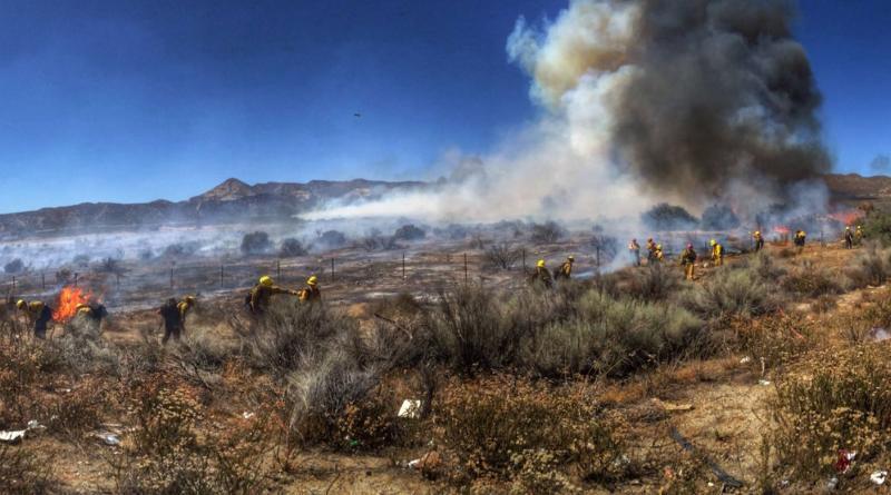 加州 7 月 17 至 21 日期間的山火