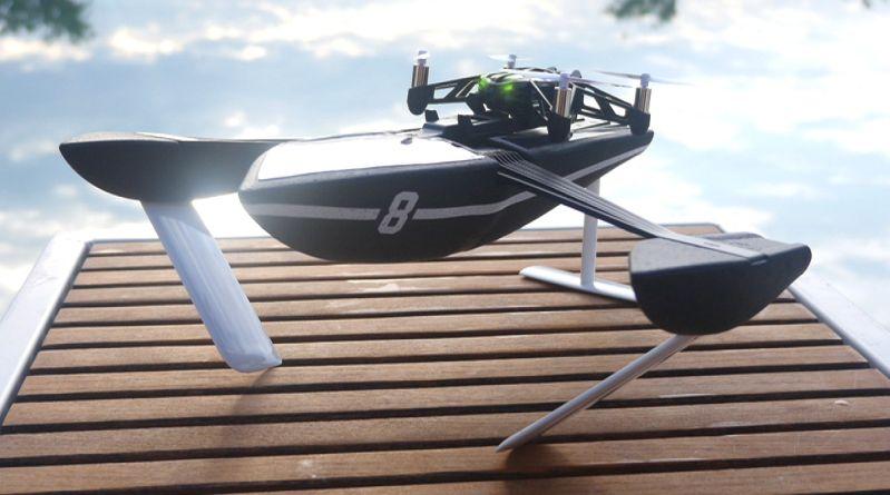 無人機 Parrot 包辦海陸空