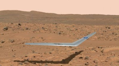 火星無人機 Prandtl-m