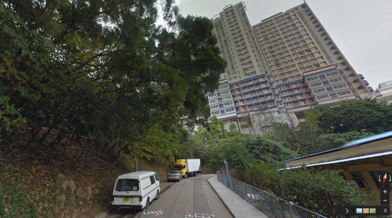 肇事現場:葵涌新葵街近下葵涌村(截圖自 Google 地圖)