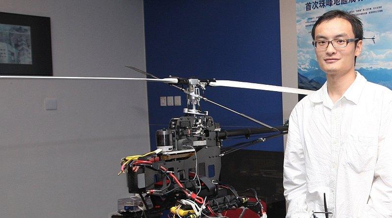 汪滔在2009年9月攝於香港科技大學