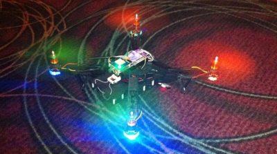 Hacker drone in DEF CON