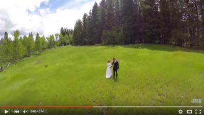 無人機影婚紗相的加料特效