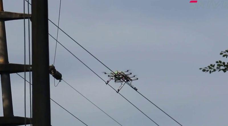 SKIVE Powerline Hybrid UAV