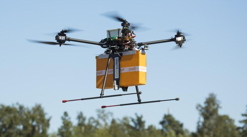 芬蘭測試以無人機送遞包裹