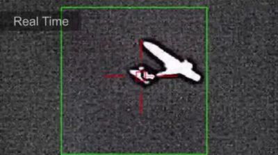 波音激光炮狙擊無人機個別部位