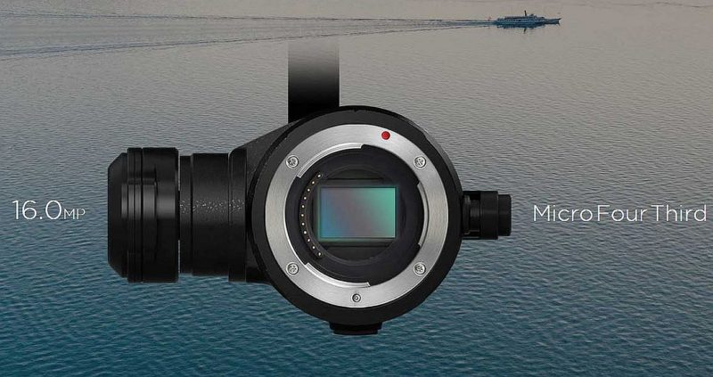 航拍機的換鏡時代 DJI Zenmuse X5