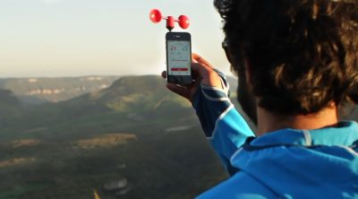 Vaavud Wind Meter and drone apps