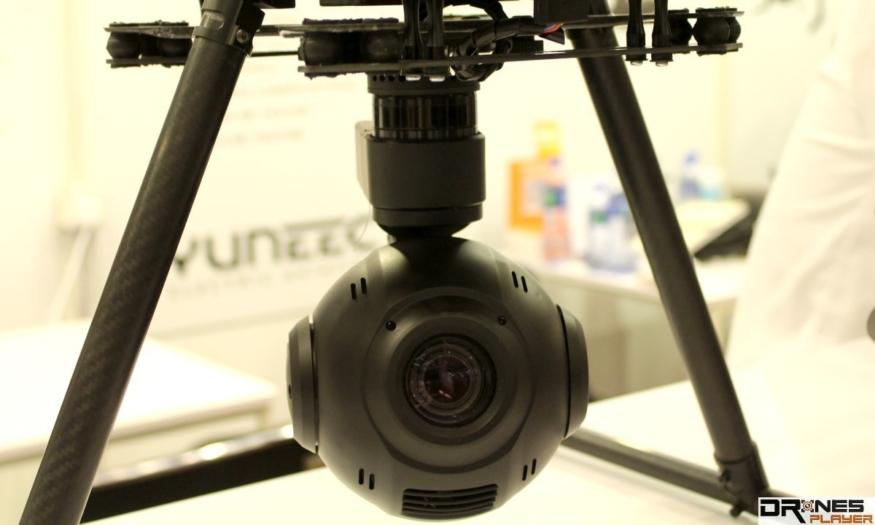 秋電展現場的 Tornado H920 配上 Yuneec V18 攝影機