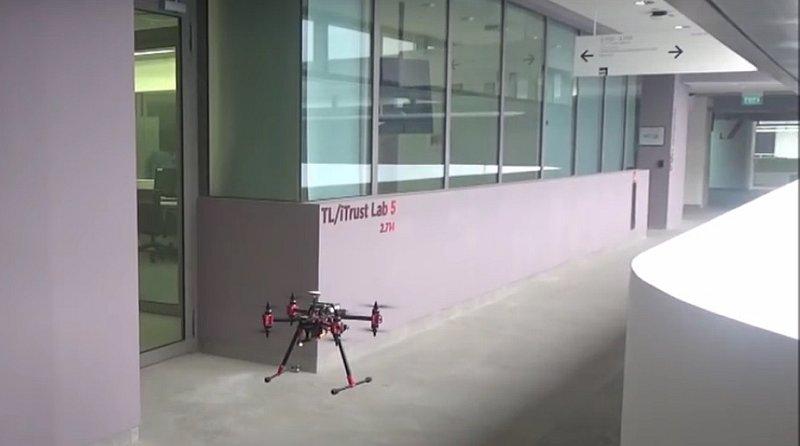 無人機搭智能手機 隨時入侵你的 Wi-Fi 打印機