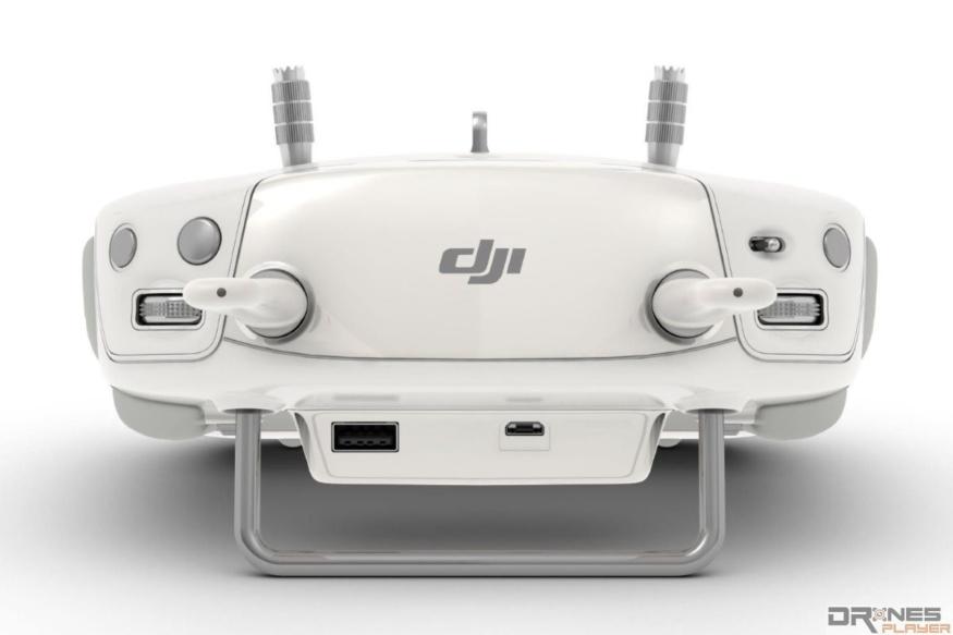 高階 DJI 航拍機的遙控器上方全是拍攝用的按鍵。