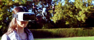 DJI 無人機結合蔡司 VR 眼罩  航拍體感操控完全實現