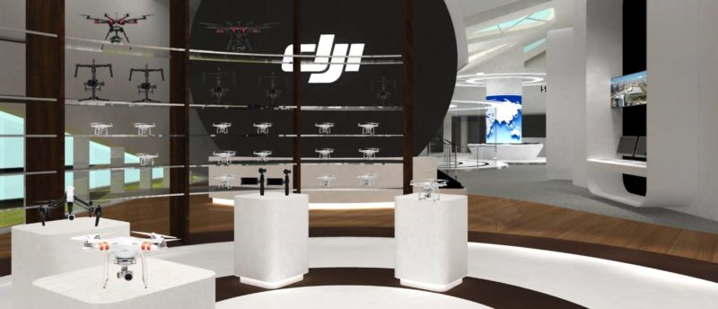 DJI 擬在深圳開設旗艦零售店