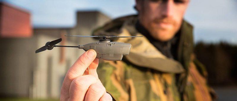 全球最輕航拍機 Black Hornet 2