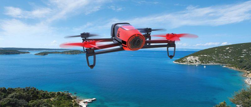 Parrot Bebop Drone 紅色版