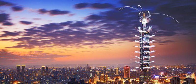 台北 101 跨年煙火匯演