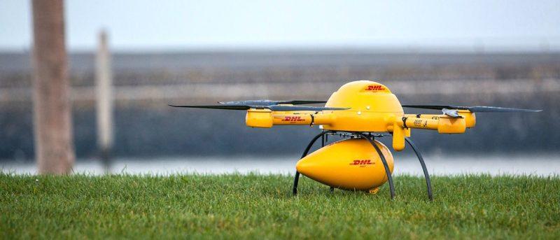 DHL Parcelcopter 送貨無人機
