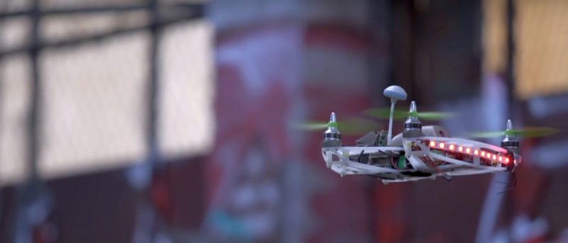 3D 打印的極速無人機 Arrow drone