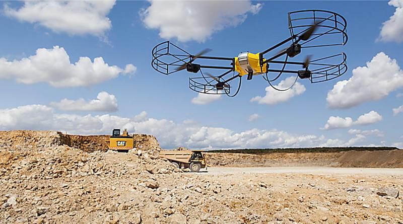Caterpillar 聯同 Redbird 提供無人機堪察方案
