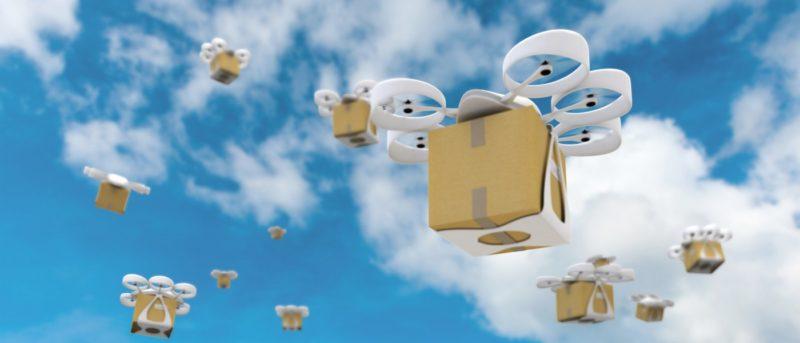 Google 無人機送貨