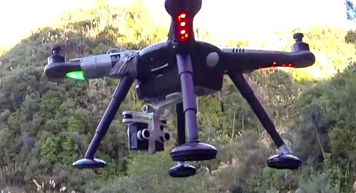 XK Detect X380 無人機連同 GoPro HERO 運動相機