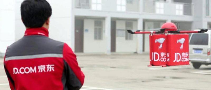 京東 JD.com 送貨無人機正在測試中。