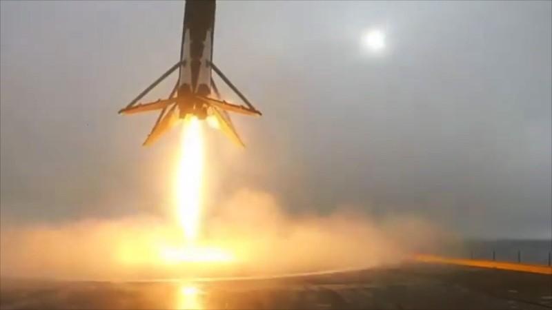 獵鷹 9 號火箭 垂直 降落