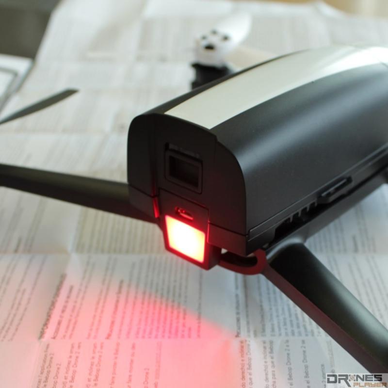 Parrot Bebop 2 提示燈