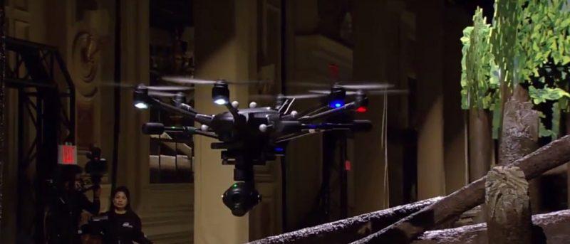 支援 Intel RealSense 技術的 Yuneec Typhoon H 無人機